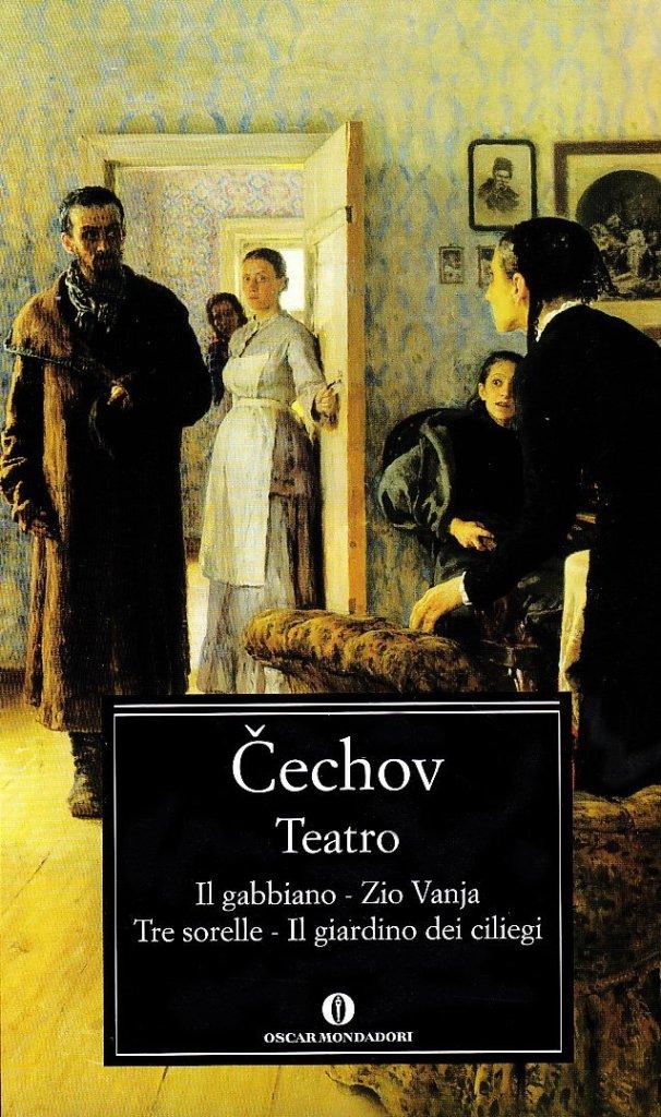 Teatro. Il gabbiano-Il giardino dei ciliegi-Zio Vania-Tre sorelle