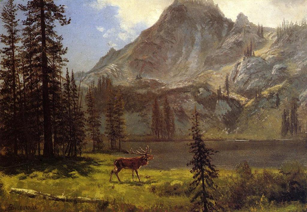 Albert Bierstadt - Call of the Wild