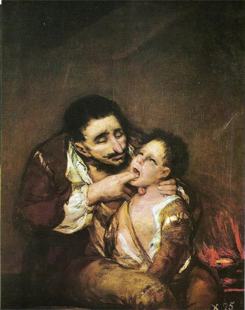 Francisco Goya, El Lazarillo de Tormes - 1819