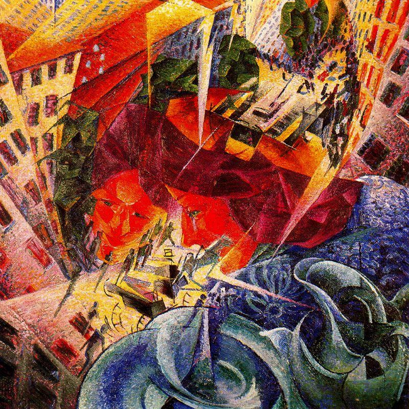 Umberto Boccioni - Visioni simultanee