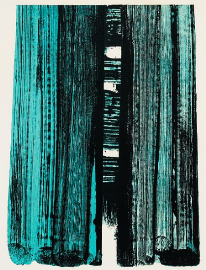 Lithograph No 42 Pierre Soulages