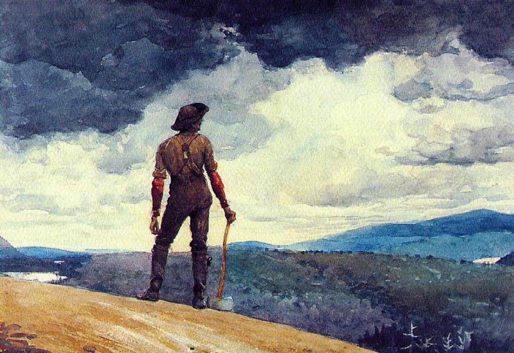 The Woodcutter - Winslow Homer
