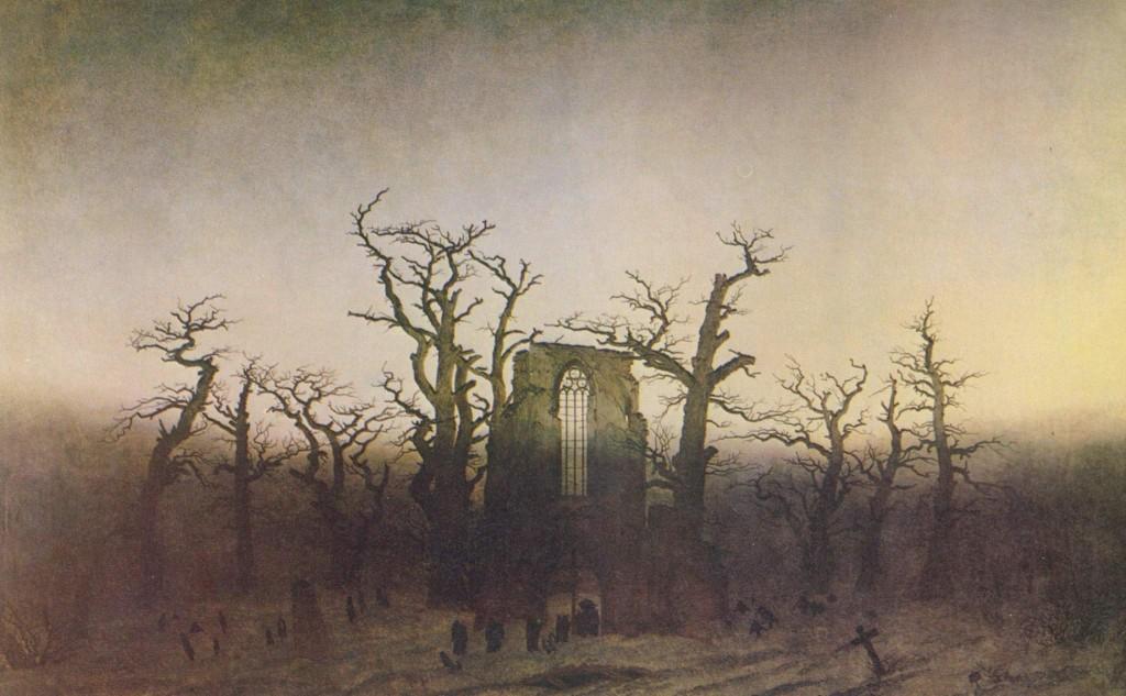 Caspar David Friedrich - Abtei im Eichwald